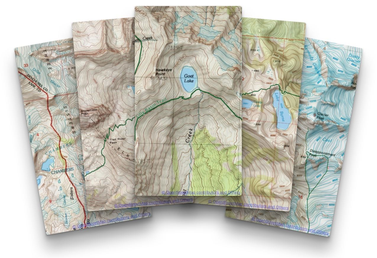 Topo Maps+ for iPhone